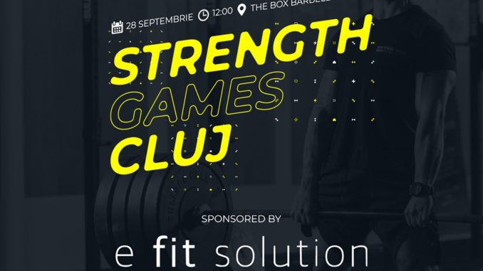 Concurs Strength Games Cluj powered by E Fit Solution